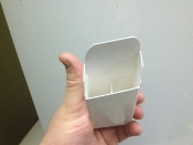 2 compartment box