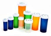 Pharmacy Vials With Child Resistant Cap