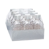 Media Storage Bottles case of 12, plastic 2000ml