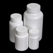 HDPE PILL BOTTLES WITH CRC CAP