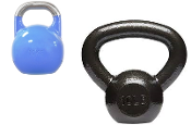 Competition and Cast Iron Kettlebells